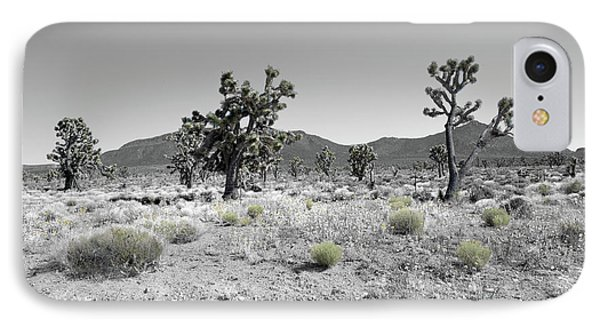 Joshua Trees IPhone Case by Blake Yeager