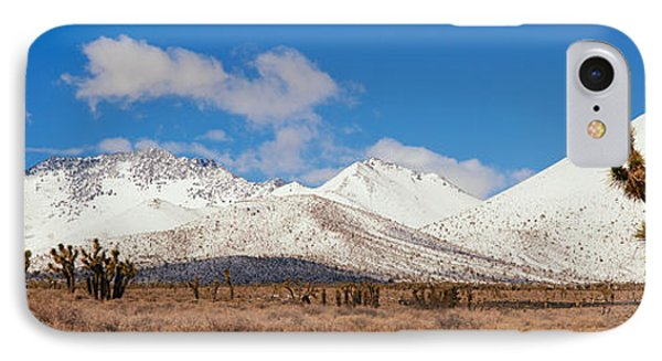 Joshua Trees In The Sierra Nevada IPhone Case by Panoramic Images