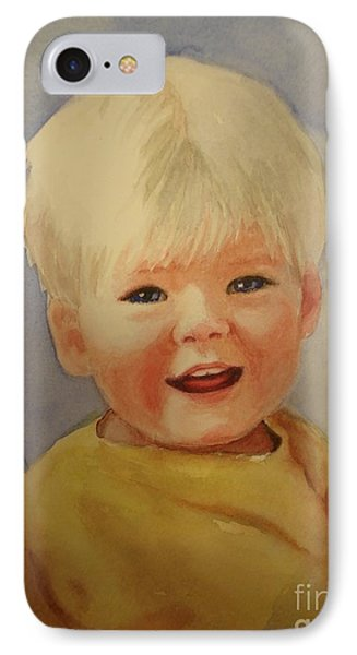 Joshua's Youngest Brother Phone Case by Marilyn Jacobson