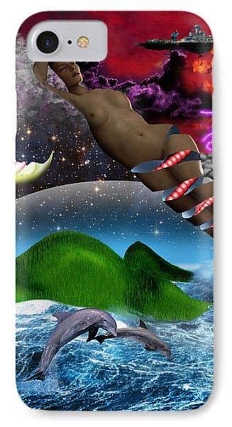 Journey II De IPhone Case by David Tz