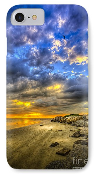 Journey To The Sunset IPhone Case by Marvin Spates