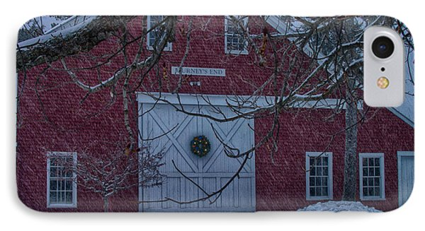 Journeys End Maine IPhone Case by Jeff Folger