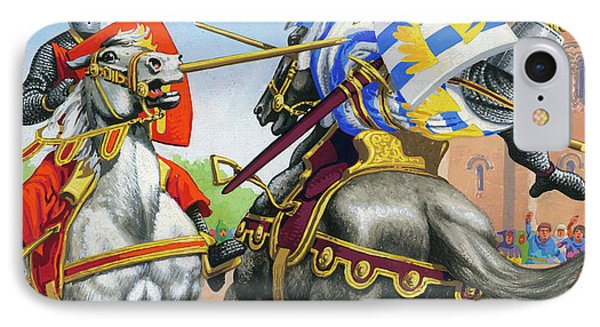 Joust IPhone Case by Pat Nicolle
