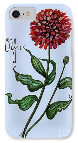 Joy IPhone Case by Elizabeth Robinette Tyndall