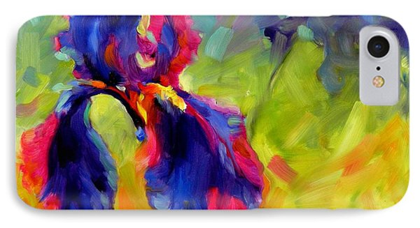 IPhone Case featuring the painting Joy In The Morning by Chris Brandley