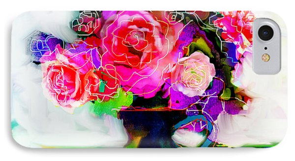 IPhone Case featuring the painting Joy by Linde Townsend