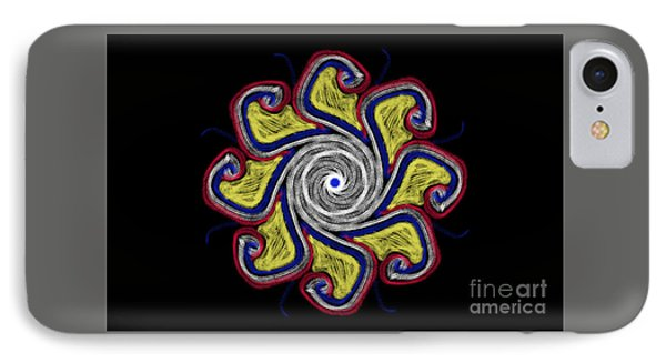 Joy Mandala IPhone Case by Eva Maria Nova