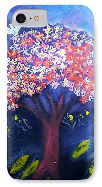 IPhone 7 Case featuring the painting Joy by Winsome Gunning