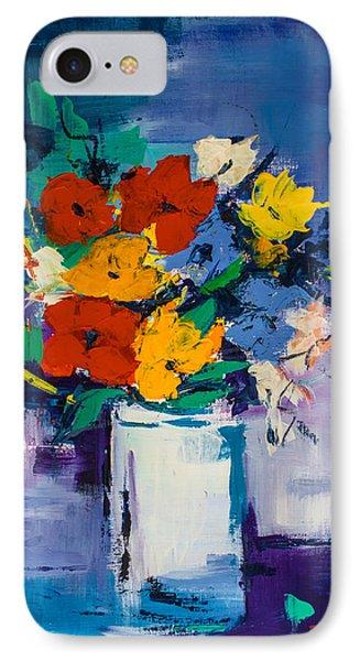 Bouquet Joyeux  IPhone Case by Elise Palmigiani