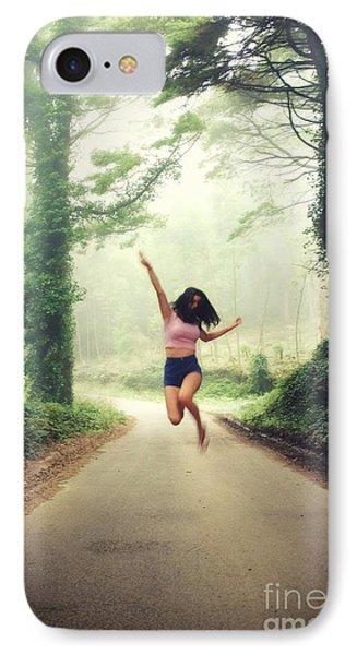 Joyful Jump IPhone Case by Carlos Caetano