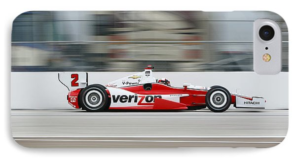 Juan Pablo Montoya Indycar IPhone Case by Jeff  Young