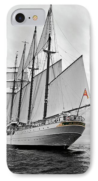 Juan Sebastian De Elcano In Its World Wild Travel IPhone Case