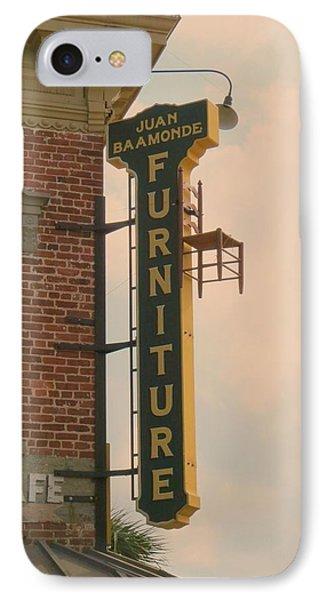 Ben Affleck iPhone 7 Case - Juan's Furniture Store by Robert Youmans