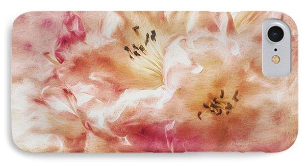 Jubilee Blush IPhone Case by Jean OKeeffe Macro Abundance Art