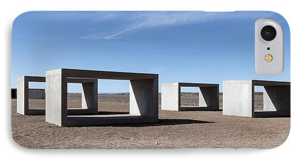 Judd's Cubes By Donald Judd In Marfa IPhone Case by Carol M Highsmith