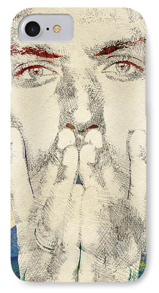 Jude Law IPhone Case by Mihaela Pater