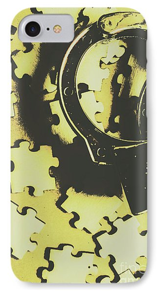 Punishment iPhone 7 Case - Judicial Jigsaw by Jorgo Photography - Wall Art Gallery
