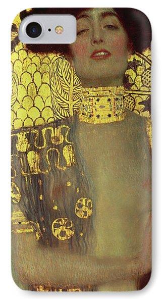 Judith IPhone Case by Gustav Klimt