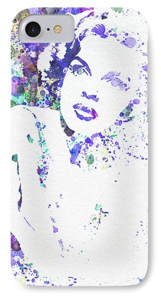 Judy Garland IPhone Case by Naxart Studio