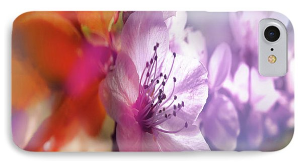 IPhone Case featuring the photograph Juego Floral by Alfonso Garcia