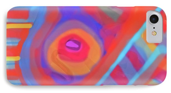 IPhone Case featuring the painting Juicy Colored Abstract by Susan Stone