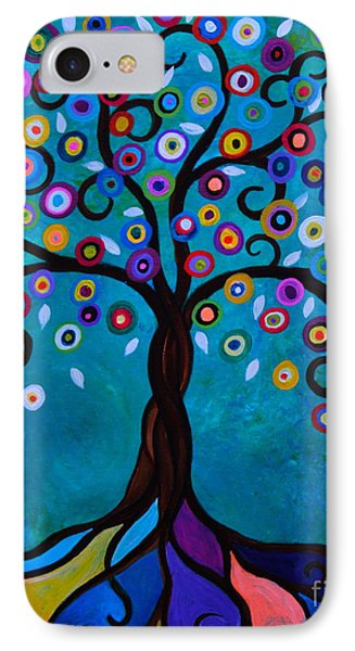 IPhone Case featuring the painting Juju's Tree by Pristine Cartera Turkus