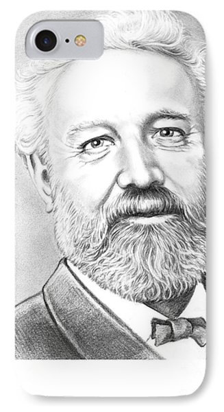 Jules Verne Phone Case by Murphy Elliott