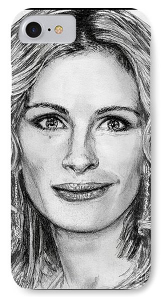 Julia Roberts In 2008 IPhone Case by J McCombie