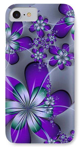 IPhone Case featuring the digital art Julia The Florist by Michelle H