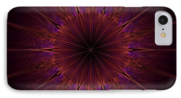 The Violet Blessings Of The Crown Chakra IPhone Case