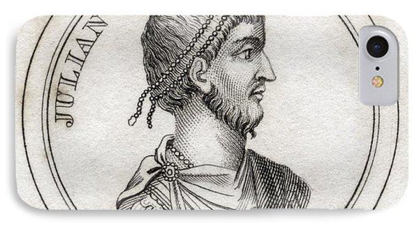 Julian The Apostate Flavius Claudius IPhone Case