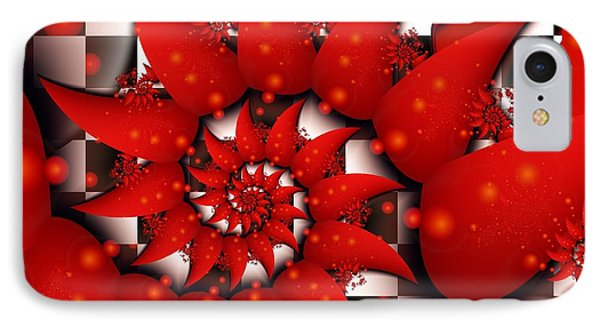 Julias Summer Red IPhone Case by Michelle H