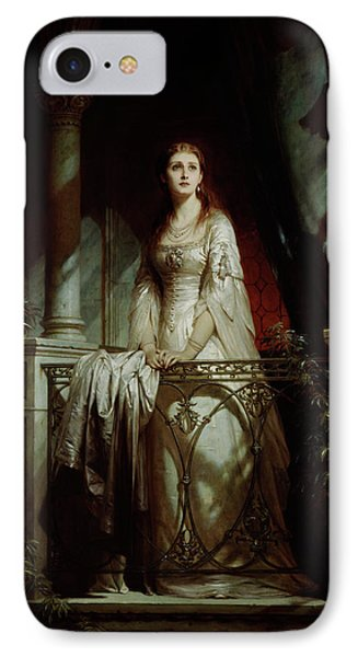 Juliet, 1877 IPhone Case by Thomas-Francis Dicksee