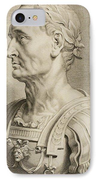 Julius Caesar IPhone Case by Boetius Adams Bolswert