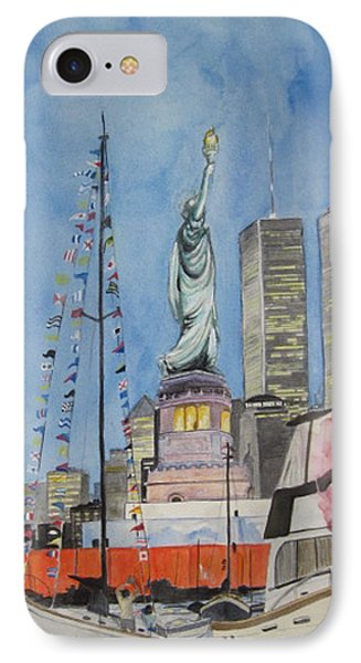 July 4th Phone Case by Judy Riggenbach