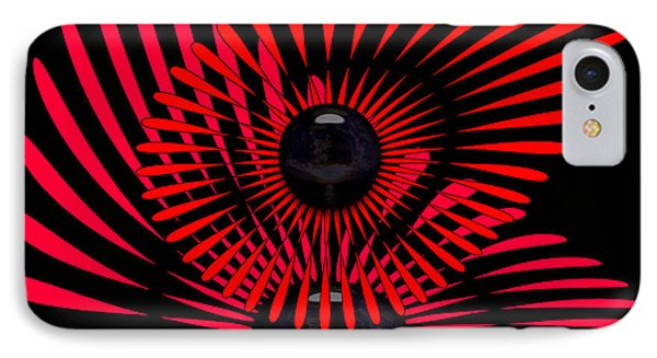 IPhone Case featuring the digital art July by Robert Orinski