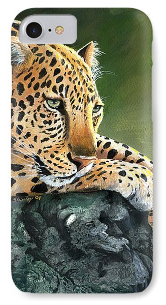 IPhone Case featuring the painting Jumanji by Sherry Shipley
