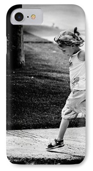 Jump In IPhone Case by Maggie Terlecki