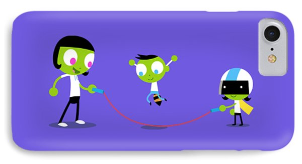 Jump Rope IPhone Case by Pbs Kids