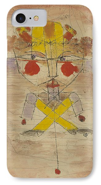 Jumping Jack IPhone Case by Paul Klee
