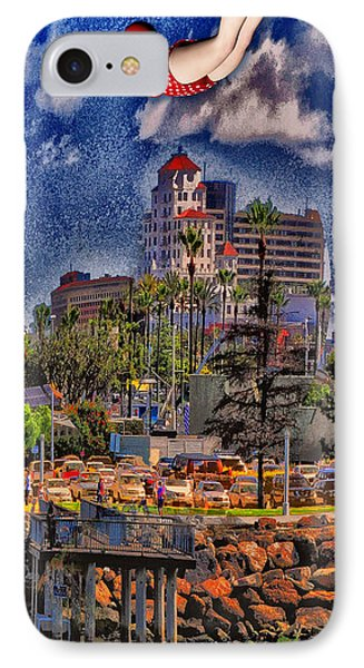 Jumping The Breakers Phone Case by Bob Winberry