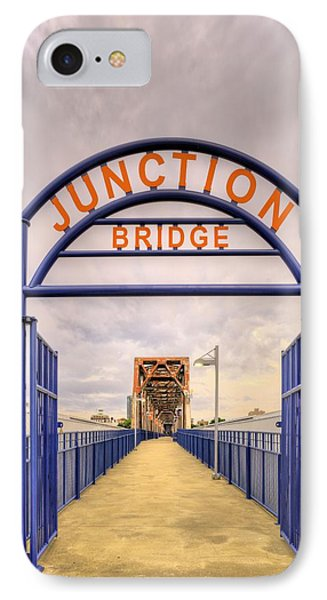 Junction Bridge Little Rock IPhone Case by JC Findley