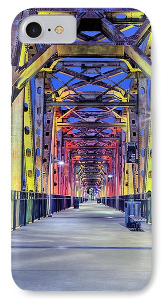 Junction Pedestrian Bridge IPhone Case by JC Findley