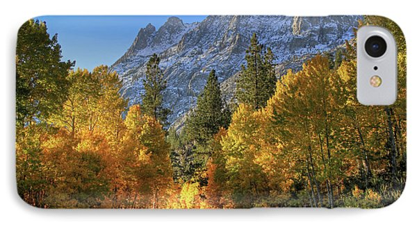 June Lake Loop IPhone Case by Donna Kennedy