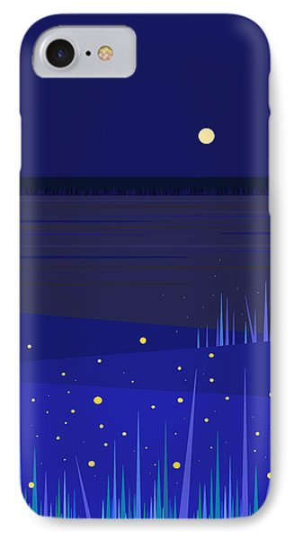 June Nights   IPhone Case by Val Arie