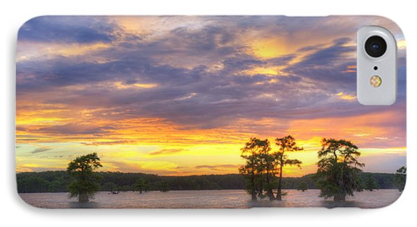 June Sunset At Caddo Lake 3 IPhone Case