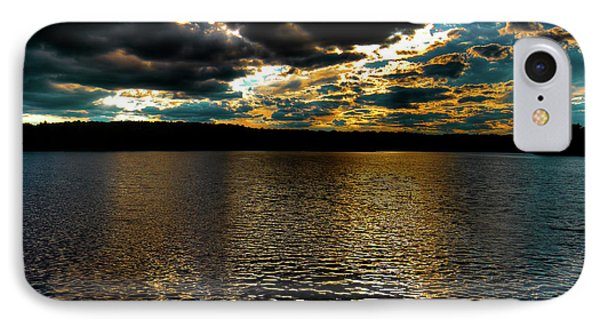IPhone 7 Case featuring the photograph June Sunset On Nicks Lake by David Patterson