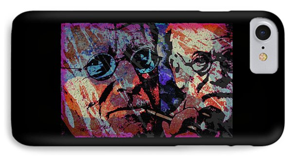 Jung And Freud IPhone Case