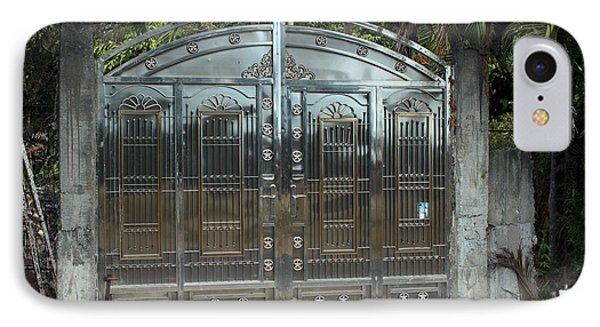 Jungle Gate IPhone Case by Douglas Pike