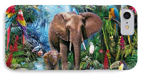 Toucan iPhone 7 Case - Jungle by Jan Patrik Krasny